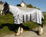 "Fly Rug  with combo neck Heavy Horse Shire with belly flap  7'0""- 7'9"""